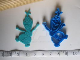Olaf Cookie Cutter 01 by B2Squared
