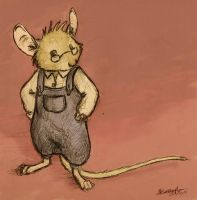 Grandpa Mouse by battie42