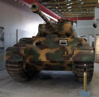 Panzerbefehlswagen V PANTHER Ausf. A  Sd.Kfz. 267 by dunklerfruehling