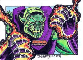 Color Annihilus Sketchcard by ElfSong-Mat