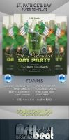 St Patrick Day Flyer Template by ArtBeatDesigns