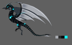 CLOSED- Techno Dragon Design Auction by Capukat