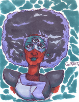 Garnet - I didn't have any red markers. by DettanKarmen7