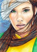 Rogue Sketch Card 10 by veripwolf