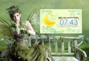 Spring Style Widget for xwidget by jimking