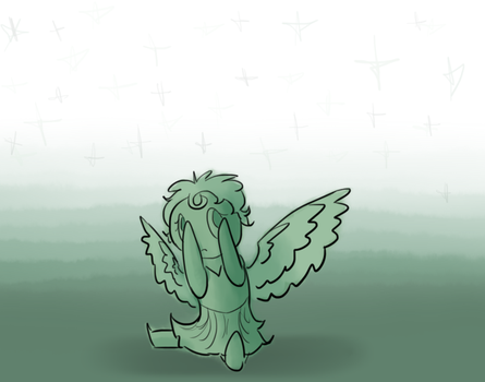 The Littlest Weeping Angel by Queen--of--Nothing