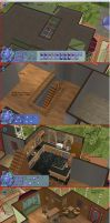 Sims 2 tutorial victorian home episode 3 by RamboRocky