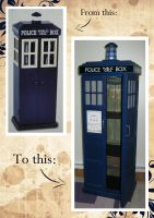 Tardis Bedside Table by Raechi-Cherie