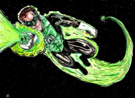 Green Lantern by FWACATA