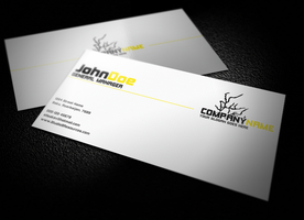 Professional Business Card by KRONTM