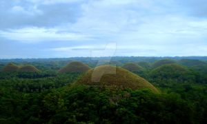 Sweet Chocolate Hills by force2reckon