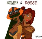 Bombs And Roses by SukiMitchell