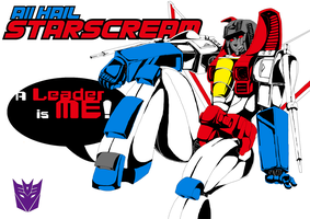 ALL HAIL STARSCREAM by Lhax