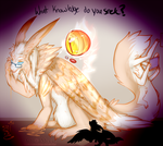 [Yoso No Kami] Elinox The sungod 2015 by SushiMeep