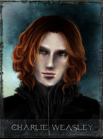 Charlie Weasley - tarot series by Patilda