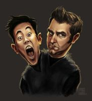 Mythbusters Grant And Tory by timshinn73
