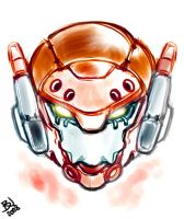 Mecha Head by Weirdesigner