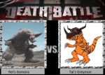 Death Battle Idea: Rei's Gomora vs. Tai's Greymon by MaxGomora1247