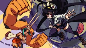 Skullgirls by oh8