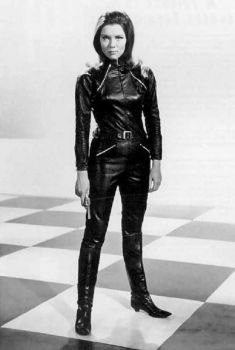 Dianna Rigg as Mrs Emma Peel. by CatwomanOfLeather1