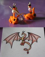 Bunnies and dragons by Itti