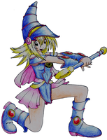 Dark Magician Girl by shiabunny