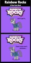 Comic: Rainbow Rocks -  A View From Maud by MyPaintedMelody