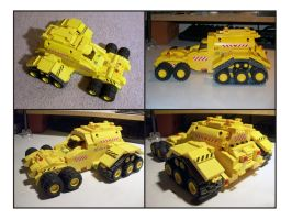 Big Yellow LEGO ATV by Frohickey