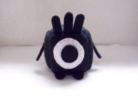Patapon Cube Plushie by Cube-lees