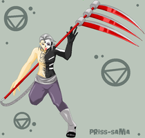 Pixel Hidan by Priss-BloodEmpress