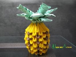 3D Origami - Pineapple by Jobe3DO