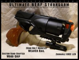 Ultimate NERF Strongarm by MarcWF