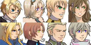RPG Maker Headshots 01 by StephODell