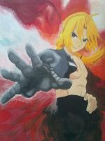 Edward Elric by LaceyDrizzle