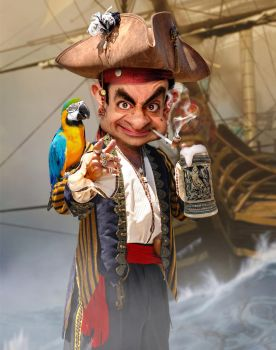 Pirate Bean by RodneyPike
