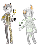 Sketchy Fantrolls For Some Pals by RubySpades