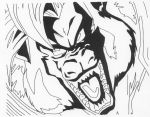Baby-Vegeta Growling by Stonegate