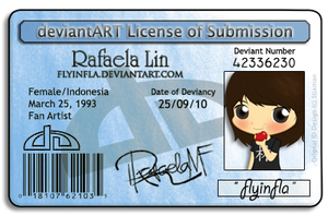 My License by flyinfLa