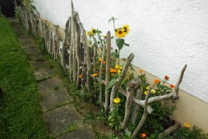 Driftwood fence. by johannmetzger