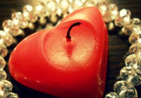 candle heart by florina23