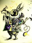 Rabbit with Horn by LordColinOneal