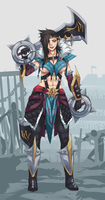 Draven by Exaxuxer