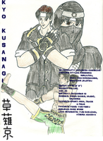 Kyo Battle Dome Biography by BlueWolfRanger95