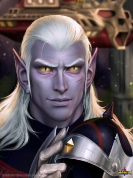 Prince Lotor by JoshBurns