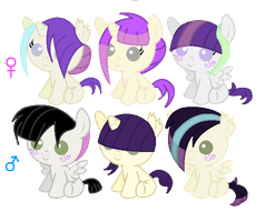 Spring Spell X Sk8tie Foals by Balance-Song