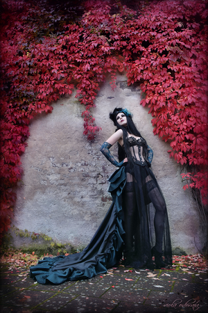 Burlesque Autumn by xxMademoiselleKarma