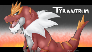 Tyrantrum by Night-Wolf122