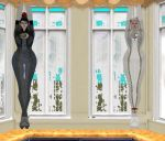 House Tour: Bayonetta and Jeanne Curtains by Hyrule2