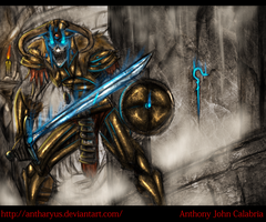 Draugr by CalabriaArt