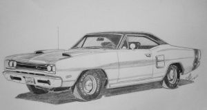 1969 Dodge Coronet by professorwagstaff